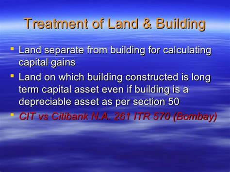 transfer of land section 45 capital gain