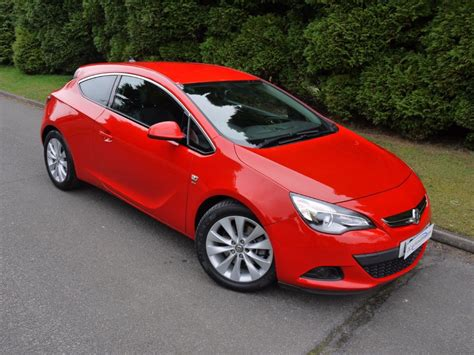 vauxhall red used power red vauxhall astra gtc for sale surrey