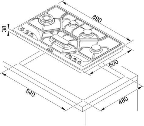 piani cottura dimensioni franke 106 0017 383 piano cottura dekor piani 90 pol 6