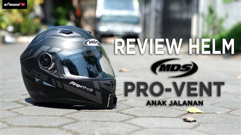 Helm Kyt Anak Jalanan review helm mds proseries pro vent black helm boy anak jalanan indonesia