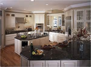 white kitchen cabinets with black granite countertops dark kitchen cabinets with white granite countertops
