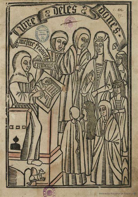libro les dones de la el llibre de les dones de francesc eiximenis biblioteca nacional de espa 241 a