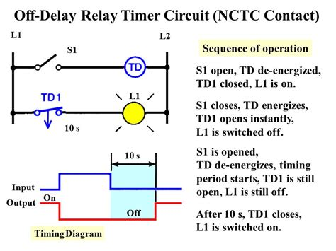 relay logic time delay wiring diagram water rocket