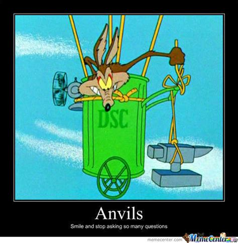 Wile E Coyote Meme - anvil memes best collection of funny anvil pictures