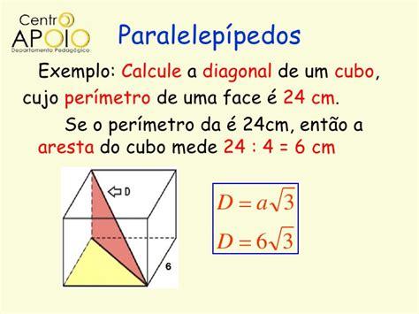 calcular a area da superficie de um cubo matem 225 tica geometria espacial prisma e cilindros www