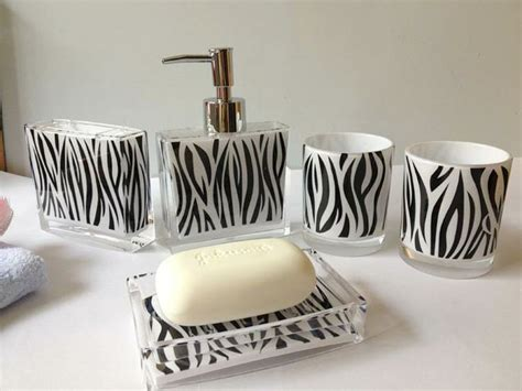 zebra print bathroom accessories 17 best images about zebra print bathroom accessories on pinterest toilets zebra
