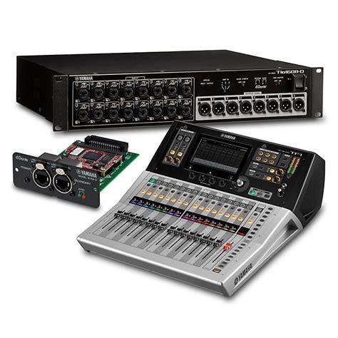 Mixer Digital Yamaha Tf1 yamaha tf1 16 ch digital mixer with tio1608 d dante stage