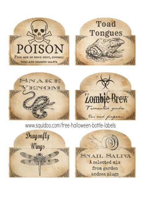 potion label template free printable bottle labels potion labels