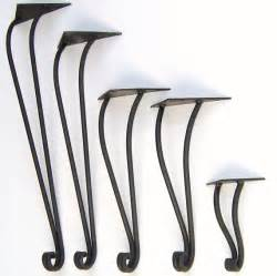 hand forged wrought iron table legs priced per by