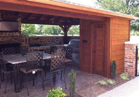 outdoor kitchen frisco backyard patio cover outdoor kitchen and bathroom in frisco texas hundt patio covers and decks