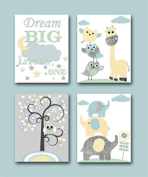 baby nursery quotes wall instant baby boy nursery quotes elephant wall giraffe by