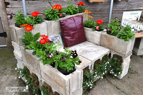 concrete block planters concrete block planters and raised beds improvised