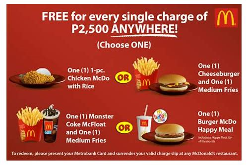 mcdonalds coupons philippines
