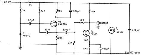 junction diode circuit diagram junction diode alpha detector power supply circuit circuit diagram seekic
