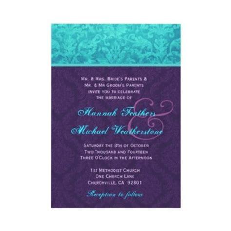 royal purple wedding invitations 40 best purple and blue wedding ideas images on