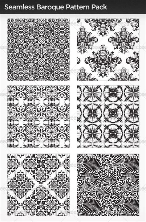 pattern photoshop baroque vintage wallpaper seamless pattern seamless baroque