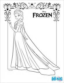 elsa coloring pages hellokids