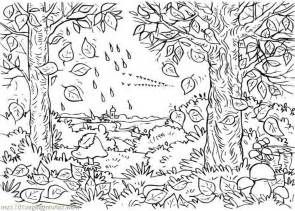 fall coloring pages for adults coloring pages fall coloring sheet colorsnip fall