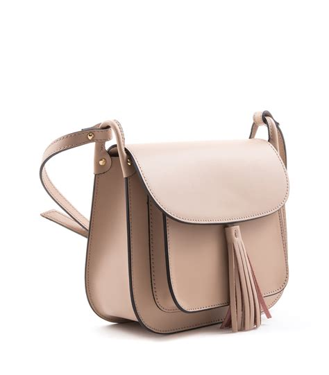 Cross Bag leather crossbody bag camelia roma