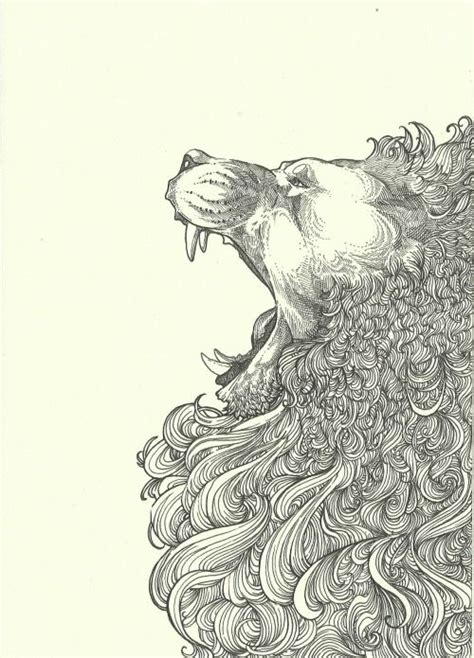 lion zendoodle drawn by justine galindo signed prints pin by bec on illustrations pinterest lions drawings