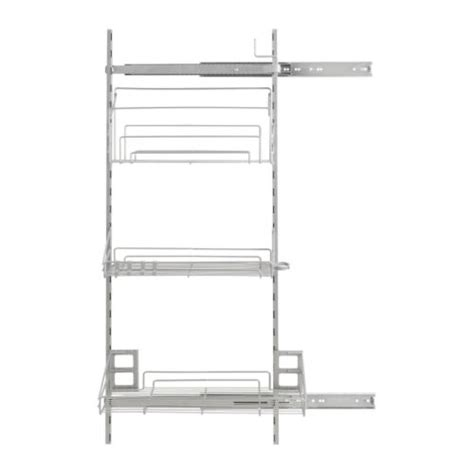 pull out shelves ikea kitchens kitchen supplies ikea