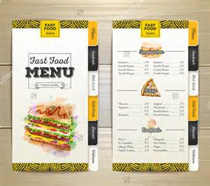 fast food menu design templates birthday menu templates 19 free psd eps indesign