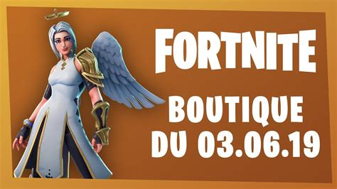 boutique fortnite du  juin  skin archange