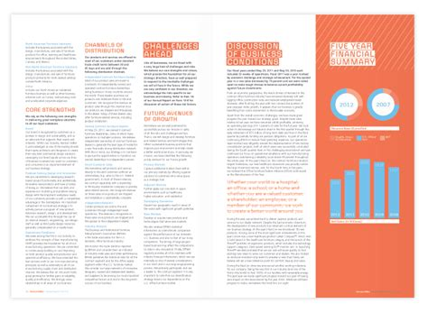 report layout design sles herman miller annual report ison