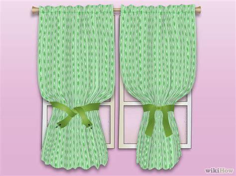 como coser cortinas como hacer cortinas f 225 ciles sin coser usando sabanas