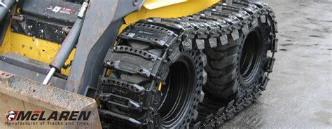 cadenas para ruedas de maquinas mclaren industries fabricante de orugas de goma y ruedas