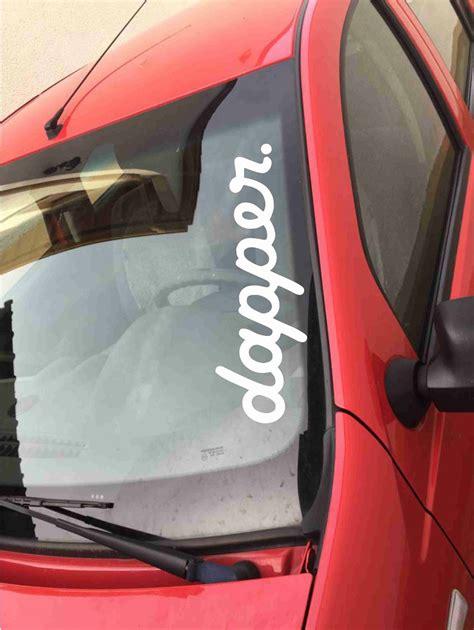 jdm sticker rear window dapper sticker screen rear window car jdm dub tuning