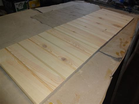 Simple Pine Headboard By Sblg43 Lumberjocks Com