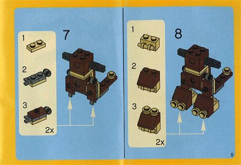 printable lego animal instructions bricks argz com