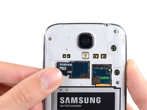 micro sim card template for samsung galaxy s4 samsung galaxy s4 microsd card replacement ifixit repair