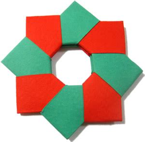 origami christmas decorations step by step decorations