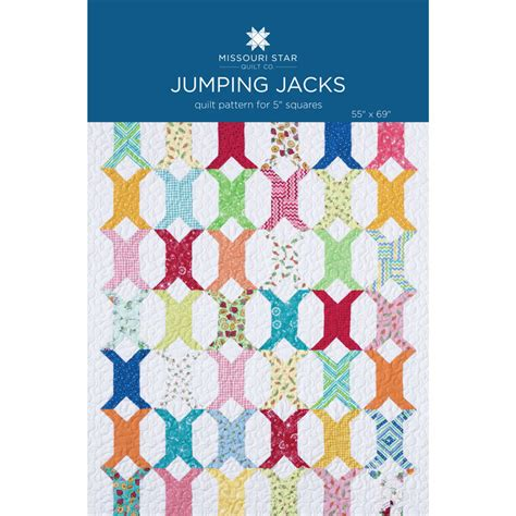 Jacks Quilt Pattern by Jumping Jacks Quilt Pattern By Msqc Missouri Quilt Co Wholesale