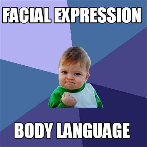 Body Meme - meme creator facial expression body language meme