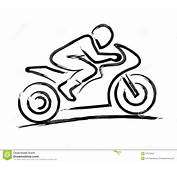 Motorbiker Estilizado Imagens De Stock  Imagem 37573634