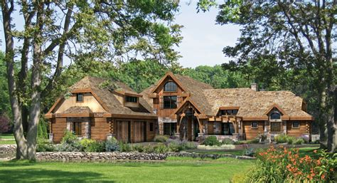 home ideas 187 country log home plans