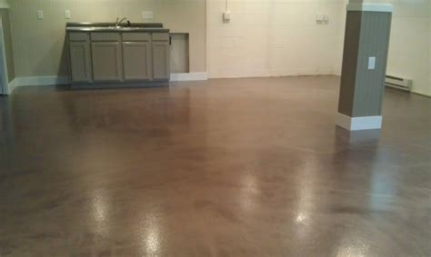 Basement Epoxy Floor metallic epoxy in lancaster pa