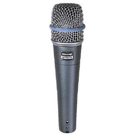 Mic Shure Precision Crafted Vocal Beta57 Vocal Pro Berkualitas shure beta 57a microphone shure beta 57 mic at