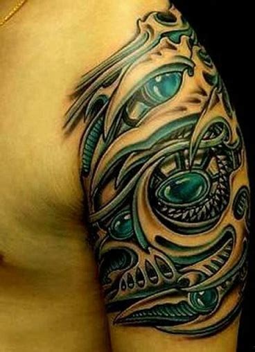 biomechanical tattoo style 9 amazing biomechanical tattoo designs styles at life