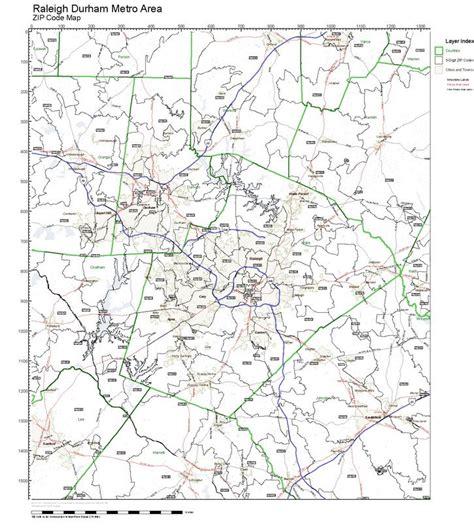 zip code maps raleigh nc workingmaps com zip code maps