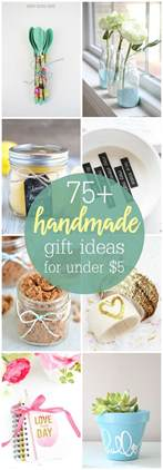 gift ideas diy gifts under 5