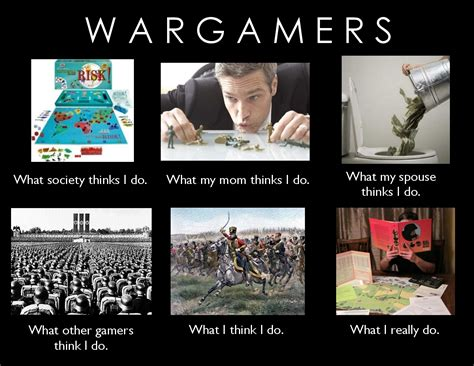 Meme Wars Game - what wargamers really do wargames boardgamegeek