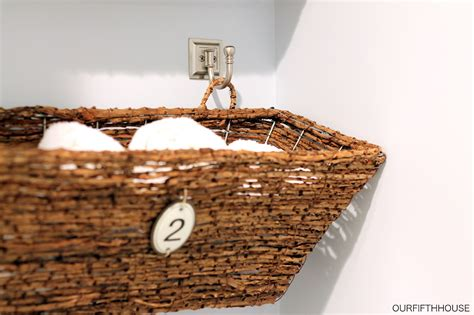 small wall wicker basket baskets buckets boxes window box bathroom storage perfect for a small bathroom