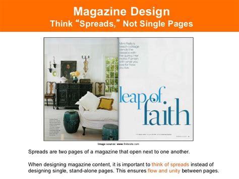 magazine layout hierarchy designing magazines part 2