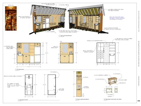 Tiny House Free Plans Numberedtype