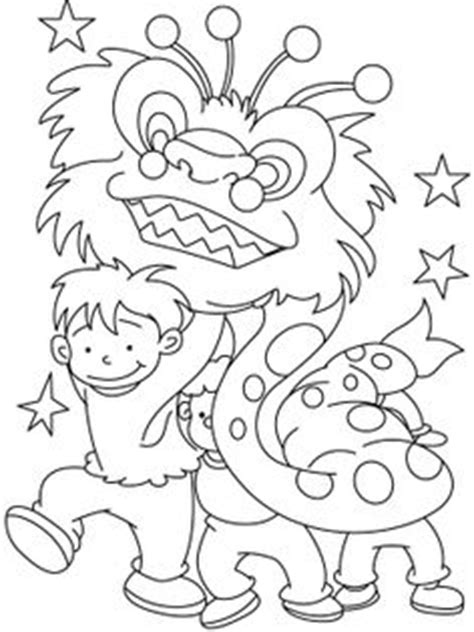 lunar new year coloring pages lunar new year on pinterest chinese new years chinese