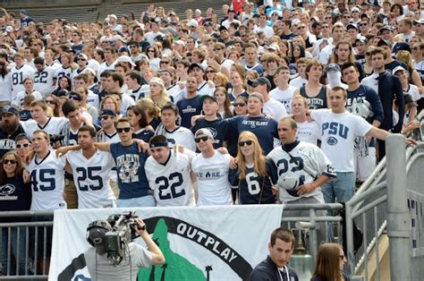 Psu Student Section by Onward Debates Bring Back The Senior Section Onward State